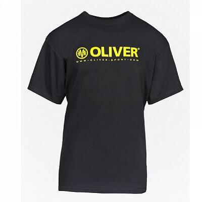 Oliver T-SHIRT PROMO BASIC černá - dámské a pánské triko