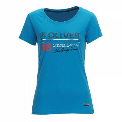 Trička Oliver LADY SHIRT ADELAIDE modrá - dámské triko