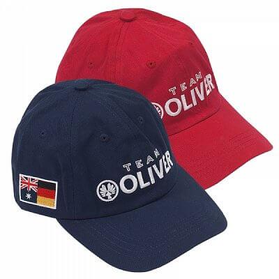 Čepice Oliver BASEBALL CAP červená