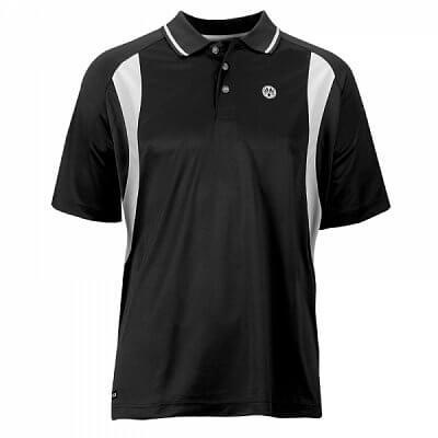 Funkční pánské tričko Oliver Polo Mendoza - černo-bílá