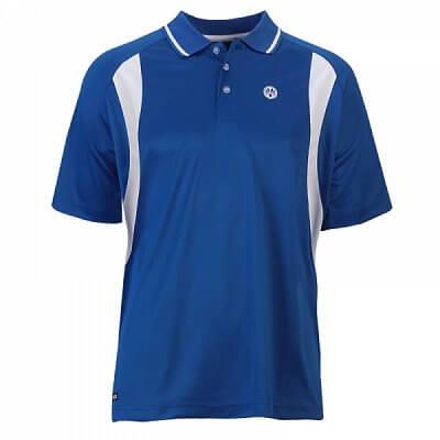 Funkční pánské tričko Oliver Polo Mendoza - modro-bílá