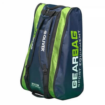 Sportovní taška Oliver GEARBAG tm.modrá/zelená