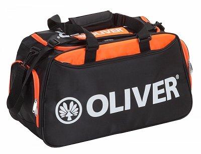Sportovní taška Oliver LEISURE BAG černo-oranžová
