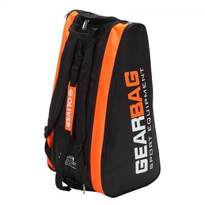 Sportovní taška Oliver GEARBAG černo-oranžová