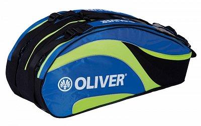 Sportovní taška Oliver TRIPLEBAG modro-zelená