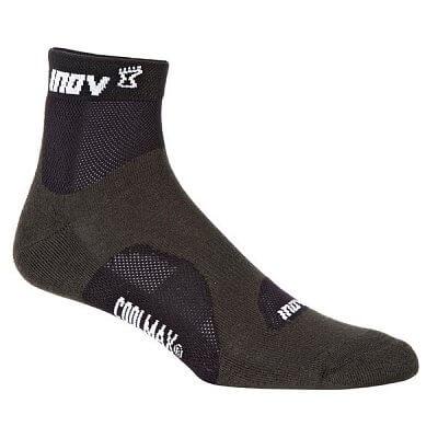Ponožky Inov-8 RACESOC mid 2p grey/black černá