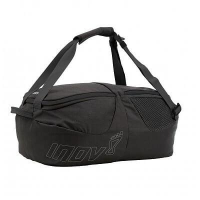 Tašky a batohy Inov-8 KIT BAG 40l black/grey černá