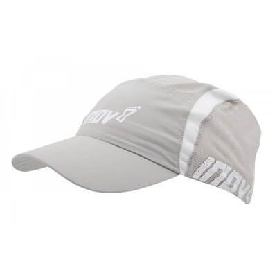 Čepice Inov-8 Kšiltovka RACEPEAK 30 grey/white bílo-šedá