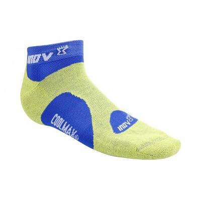 Ponožky Inov-8 Ponožky RACESOC low 2p lime/blue + black/red světle zelená