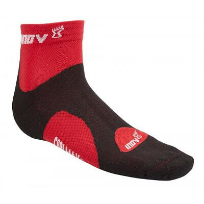 Ponožky Inov-8 Ponožky RACESOC mid 2p lime/blue + black/red světle zelená