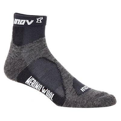 Ponožky Inov-8 MUDSOC mid 2p grey/black šedá