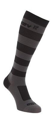 Ponožky Inov-8 LONG SOCKS black/grey černá