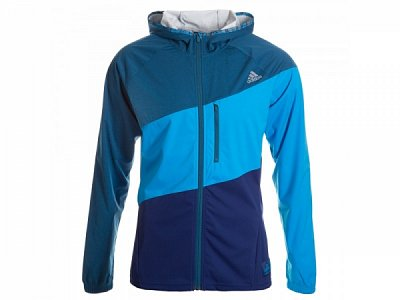 Bundy adidas hooded running jacket m