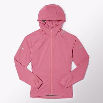 Dámská běžecká bunda adidas sequencials climaproof slim jacket
