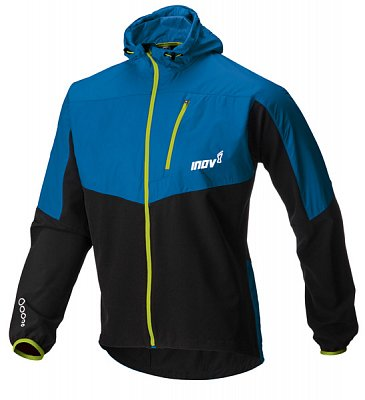 Bundy Inov-8 Bunda RACE ELITE 315 SOFTSHELL blue/black/lime modrá