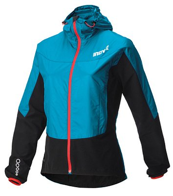 Bundy Inov-8 RACE ELITE Softshell pro FZ turquoise/black/barberry modrá