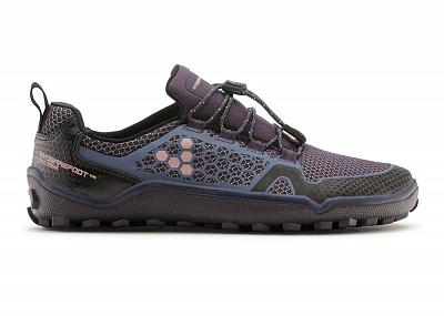 Dámské běžecké boty VIVOBAREFOOT TRAIL FREAK L 3M Mesh Purple/ Navy