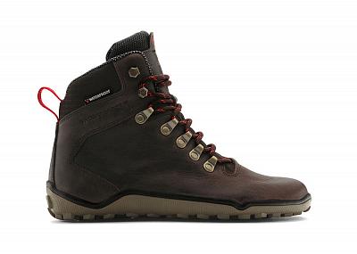 Pánská outdoorová obuv VIVOBAREFOOT TRACKER M Leather Dk Brown