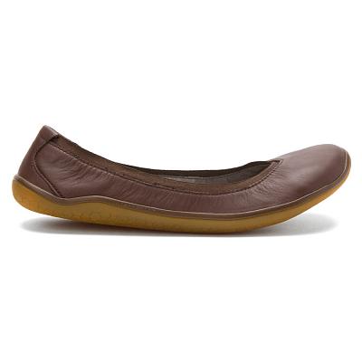 Dámská vycházková obuv VIVOBAREFOOT DAISY DK BROWN