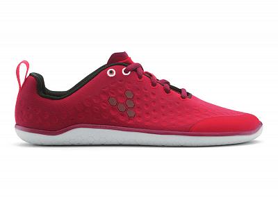 Dámské běžecké boty VIVOBAREFOOT STEALTH L Raspberry