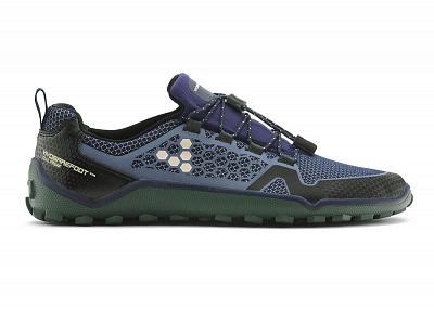 Pánské běžecké boty VIVOBAREFOOT TRAIL FREAK 3M Navy/ Forest Green