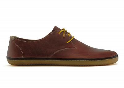 Pánská vycházková obuv VIVOBAREFOOT RA Leather Tobacco (Hopewell)
