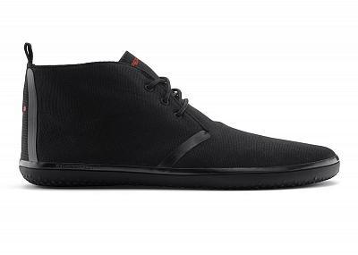 Pánská vycházková obuv VIVOBAREFOOT GOBI II M Black Winterproof