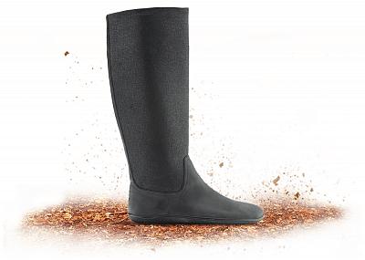 Dámská vycházková obuv VIVOBAREFOOT RYDER BOOT Black
