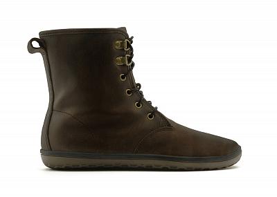 Dámská vycházková obuv VIVOBAREFOOT GOBI L Hi Top Brown
