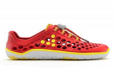 Dámská vycházková obuv VIVOBAREFOOT ULTRA II L EVA Red/Yellow