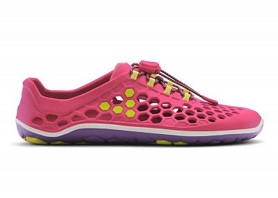 Dámská vycházková obuv VIVOBAREFOOT ULTRA II L EVA Pink/Purple