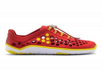 Pánská vycházková obuv VIVOBAREFOOT ULTRA II M EVA Red/Yellow