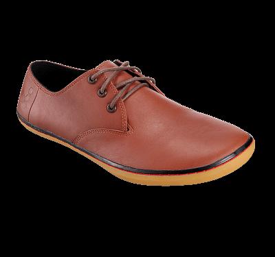 Pánská vycházková obuv VIVOBAREFOOT Ra Red Brown