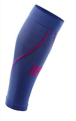 Kompresní návleky CEP lýtkové návleky dámské purpurově modrá / růžová