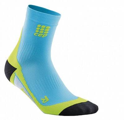 Ponožky CEP Krátké ponožky pánské havajská modř / zelená
