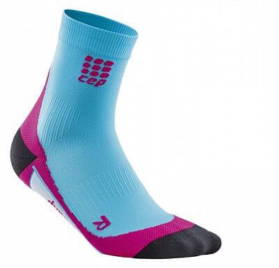 Ponožky CEP Krátké ponožky dámské havajská modř / růžová