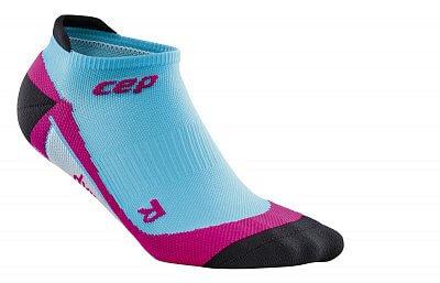 Ponožky CEP Nízké ponožky dámské havajská modř / růžová