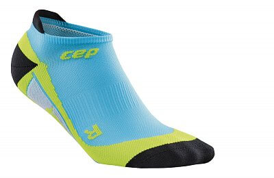 Ponožky CEP Nízké ponožky pánské havajská modř / zelená