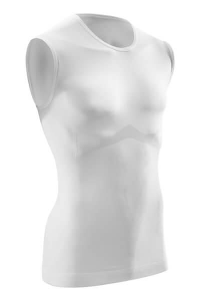 5d64840eee49 CEP Ultralight tričko bez rukávov pánske biela - pánske tričko ...