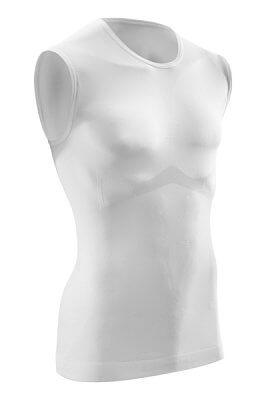 Trička CEP Ultralight tričko bez rukávu pánské bílá