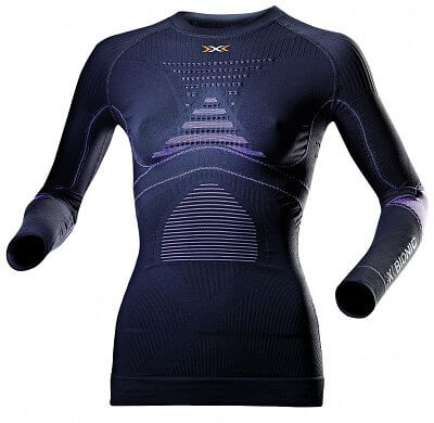 Trička X-BIONIC Accumulator EVO Shirt  Long Sl Round Neck Lady
