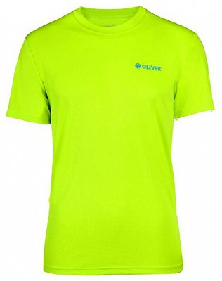 Trička Oliver Active T-shirt lime