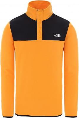 Pánská flísová mikina The North Face Men's Tka Glacier Snap-Neck Fleece Pullover