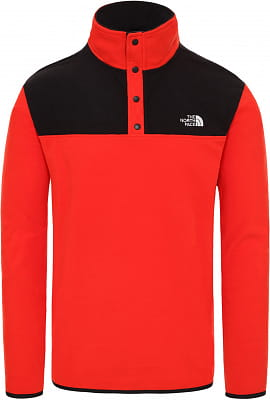 Pánská flísová mikina The North Face Men's Tka Glacier Snap-Neck Fleece Pullover