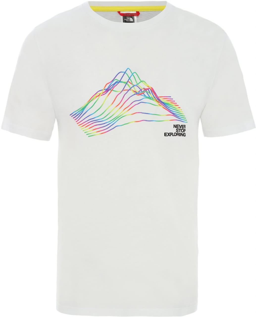 T-Shirts The North Face Men's Rainbow T-Shirt