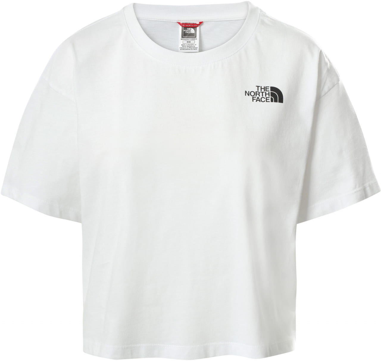 Dámské zkrácené tričko The North Face Women's Cropped Simple Dome T-Shirt