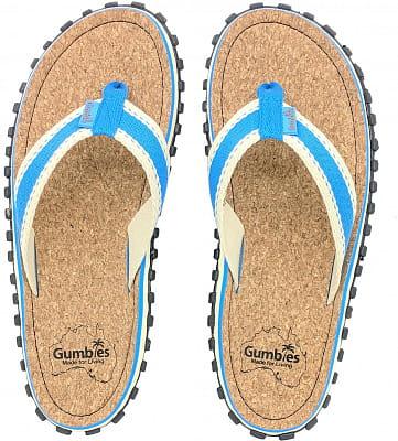 Korkové letní žabky Gumbies Corker Blue