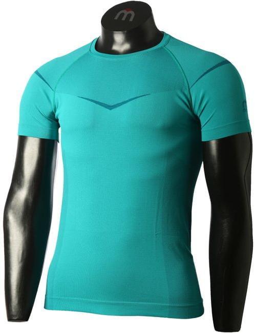 Pánske športové tričko Mico Man Half Sleeves R/Neck Shirt Breeze