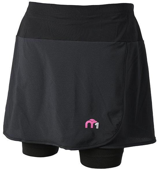 Dámska športová sukňa Mico Woman Skirt With Brief Insert M1 Trail
