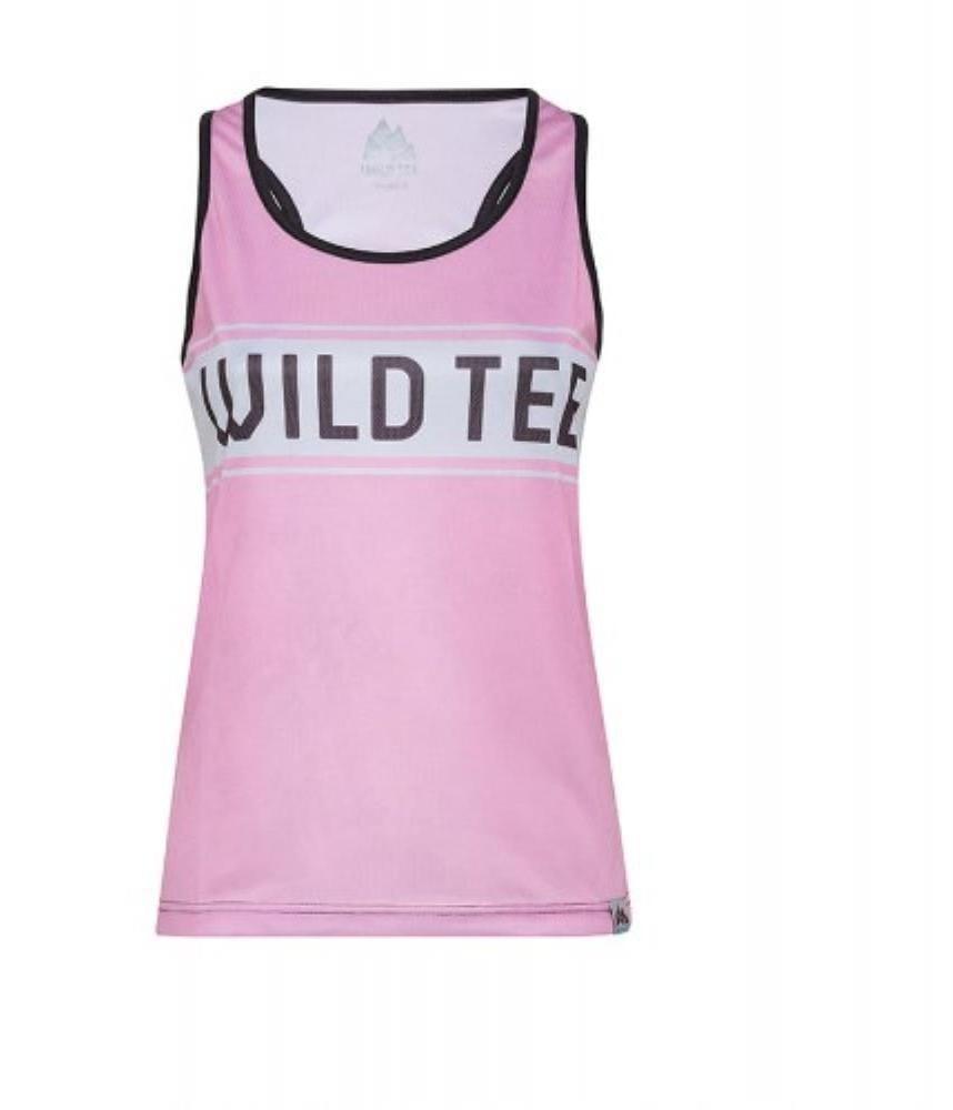 Tielka WildTee Funkční Tílko Oldschool Pink